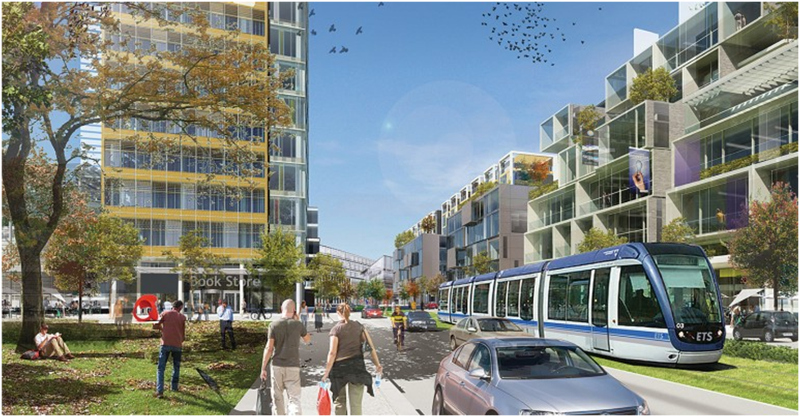 TOD around Edmonton LRT station