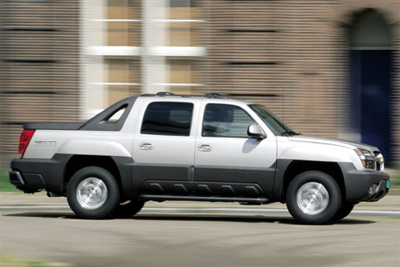 Stylish truck: this may look like a working truck, but that impression is wrong. It is primarily a fashion accessory. (Image Credit: Autoweek)