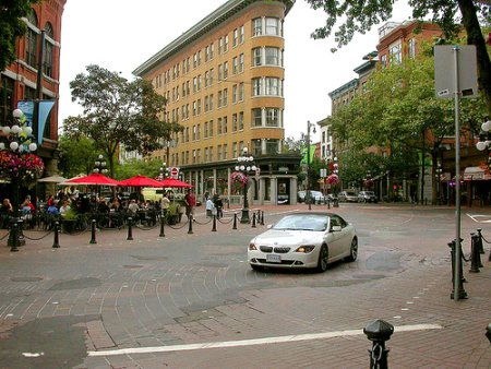 Naked Streets in Gastown, Vancouver (Image Credit: Spacing)