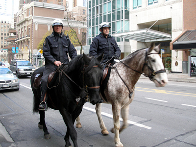 Vancouver Police on patrol. Photo source: http://www.flickr.com/photos/91994044@N00/