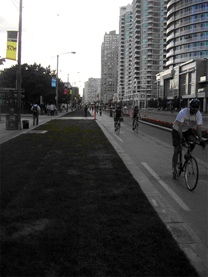 Look, no cars! The south leg of Queen's Quay gets a much-needed makeover