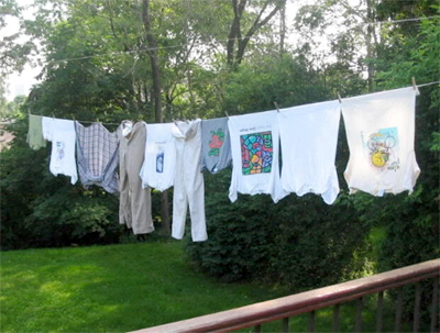 Exhibit 3: Solar-powered clothes dryer