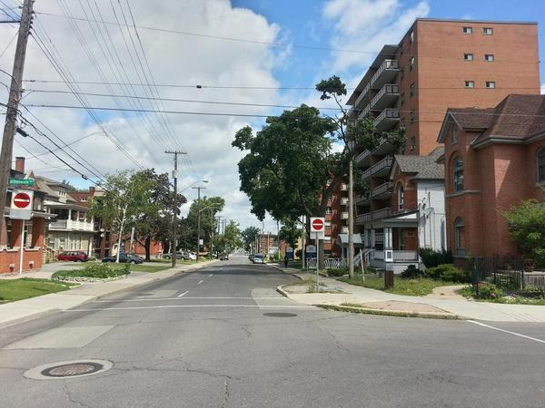 Wentworth Street looking north from Delaware (RTH file photo)