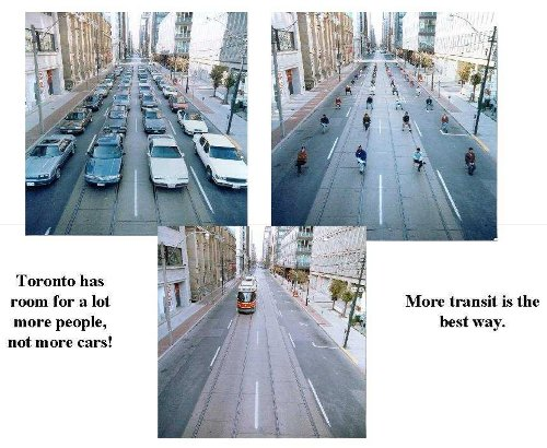 More transit is the better way
