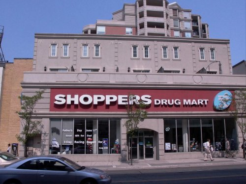 Shopper's Drug Mart with upstairs apartments
