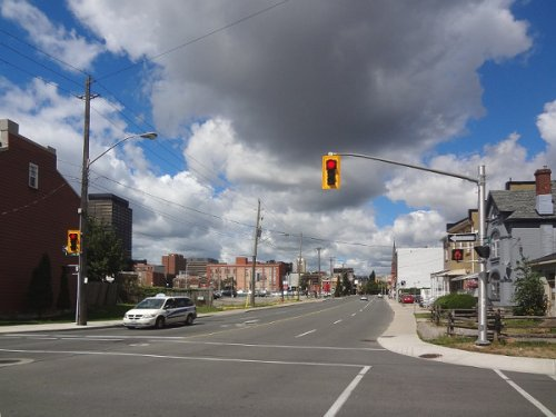 Wilson looking westbound from Catharine (RTH file photo)