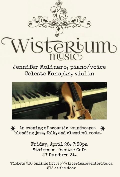 Wisterium Music poster